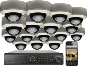 Our Video Security Systems Come Pre Packaged In 16 Camera And Can Be Configured To Meet Your Exact Needs